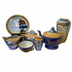 Collection of Lustre Ware.
